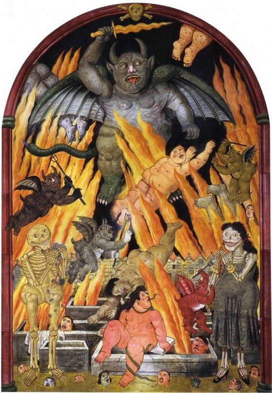 Gates of Hell - Fernando Botero