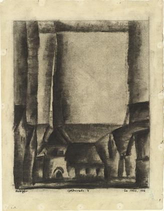 Gelmeroda V - Lyonel Feininger
