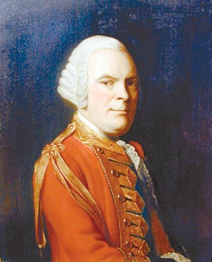 General Sir James Abercromby (also spelled Abercrombie) - Allan Ramsay