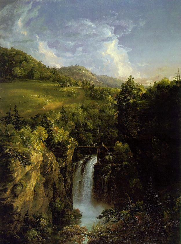 Genesee Scenery - Thomas Cole