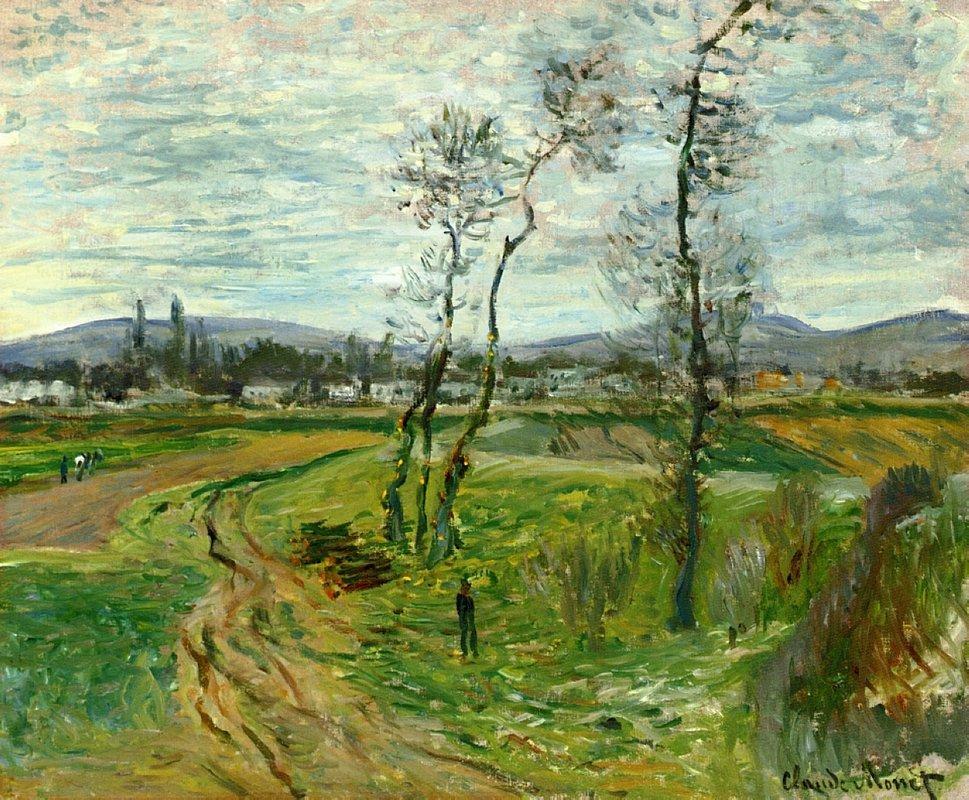 Gennevilliers Plain - Claude Monet