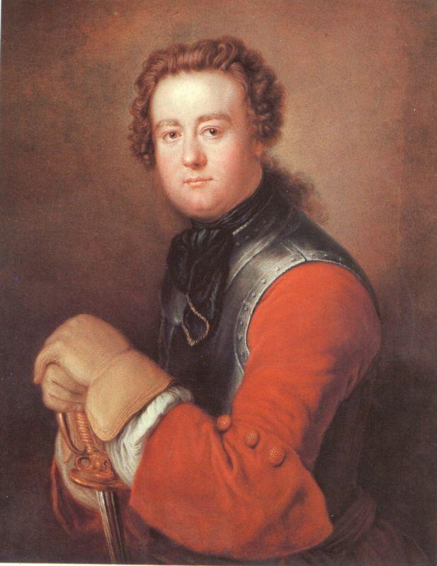 Georg Wenzeslaus von Knobelsdorff - Antoine Pesne