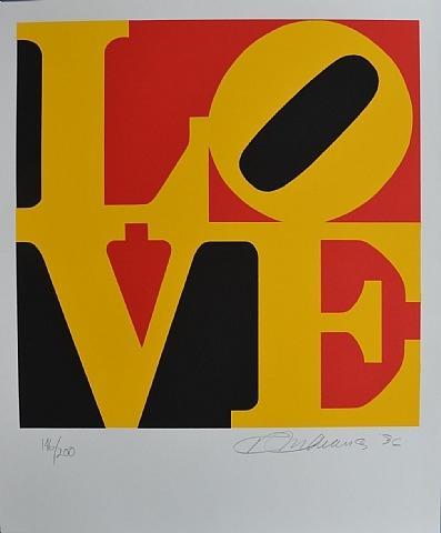 German Love - Robert Indiana