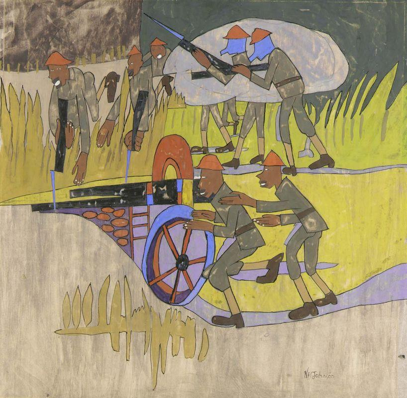 Get the War Going - William H. Johnson
