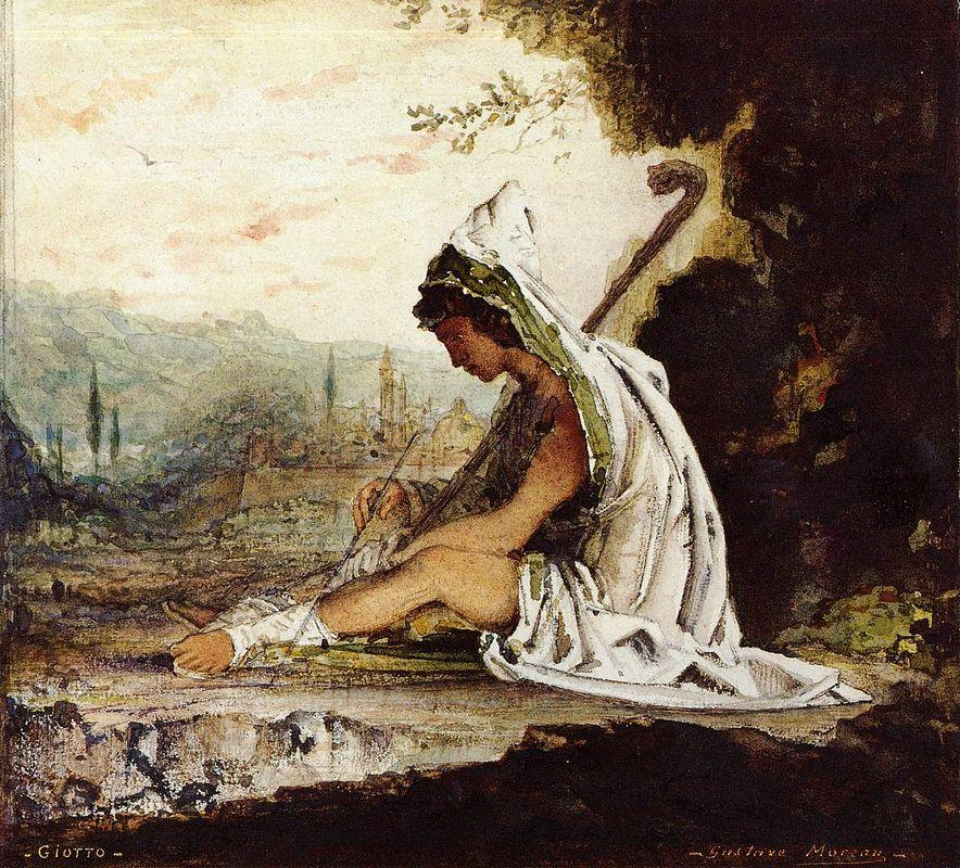 Giotto - Gustave Moreau