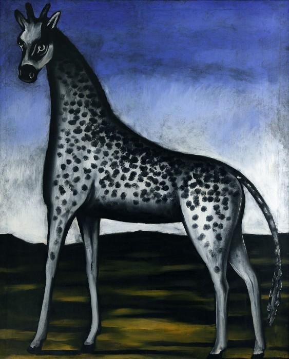 Giraffe - Niko Pirosmani