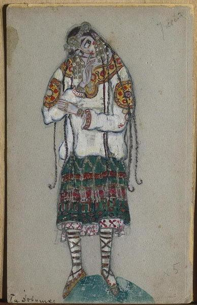 Girl - Nicholas Roerich