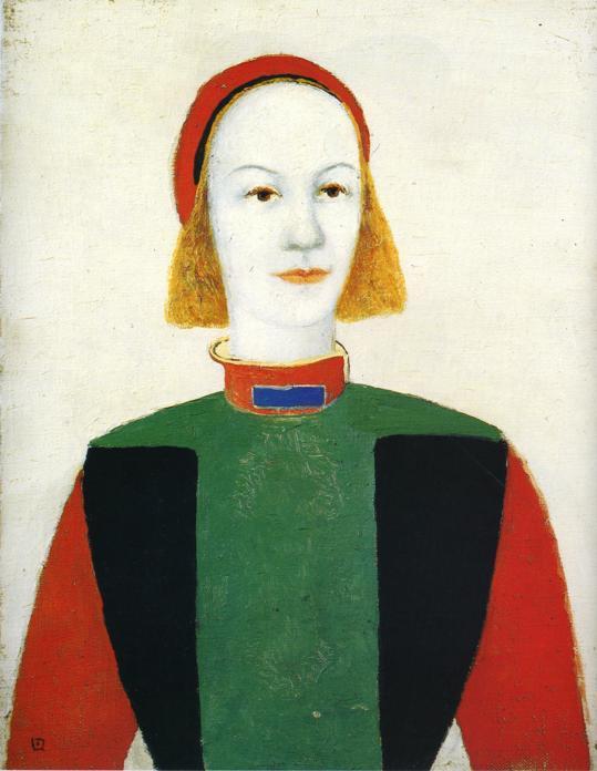 Girl - Kazimir Malevich