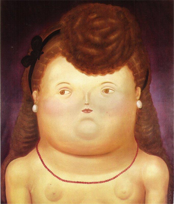 Girl Arc - Fernando Botero