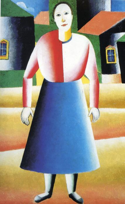 Girl in the Country - Kazimir Malevich