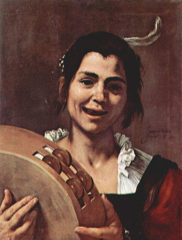 Girl with Tambourine - Jusepe de Ribera