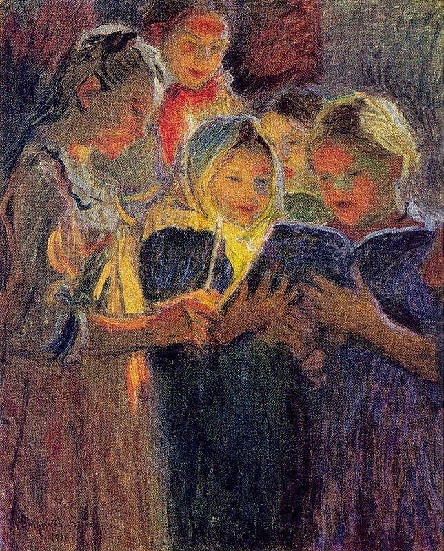 Girls Chorus - Nikolay Bogdanov-Belsky