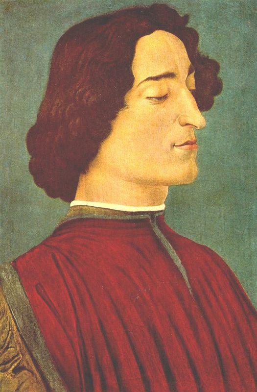 Giuliano de Medici - Sandro Botticelli