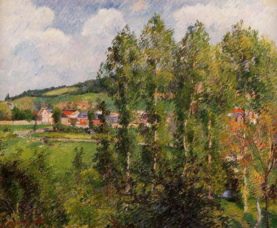 Gizors, New Section - Camille Pissarro