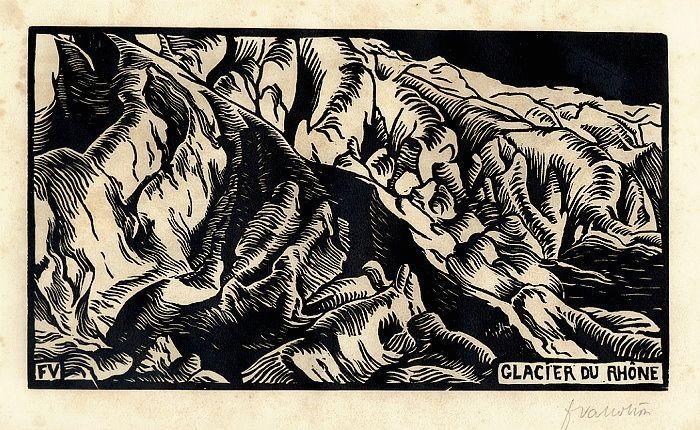Glacier - Felix Vallotton