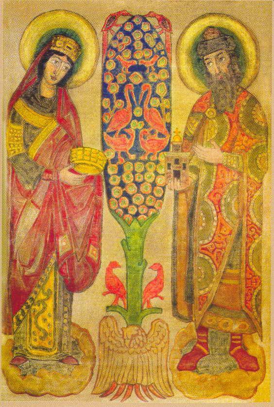 Glad visitors - Nicholas Roerich