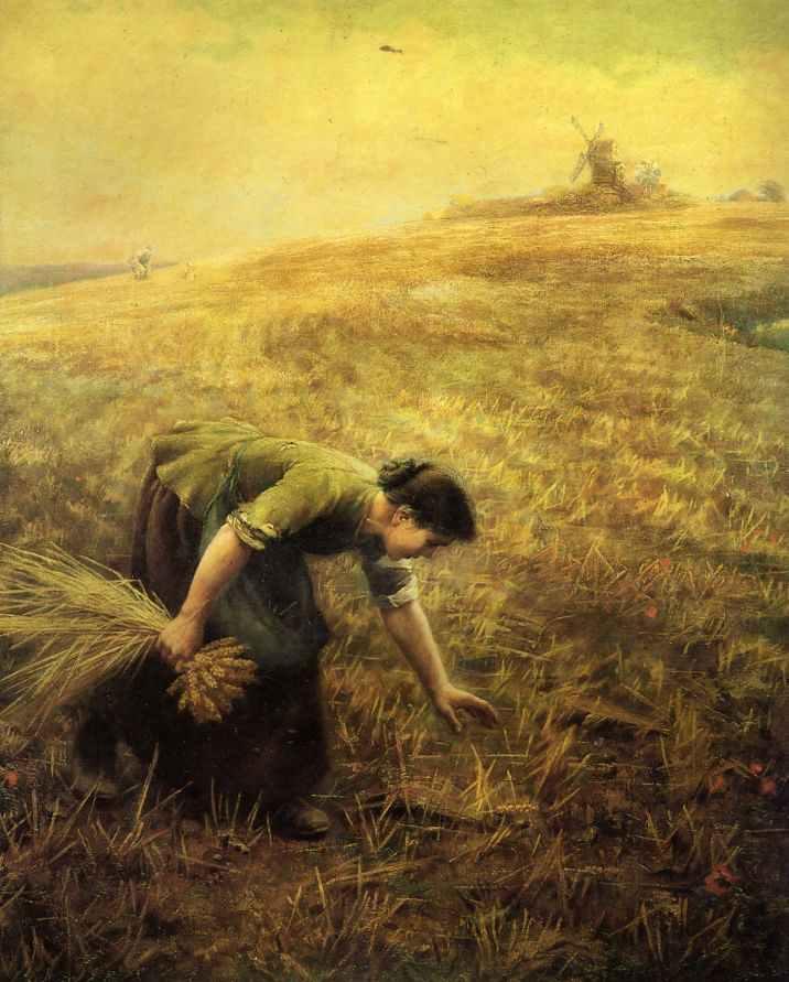 Gleaning - Arthur Hughes
