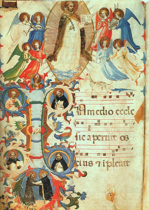 Glorification of Saint Dominic - Fra Angelico