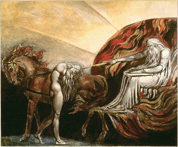 God Judging Adam - William Blake