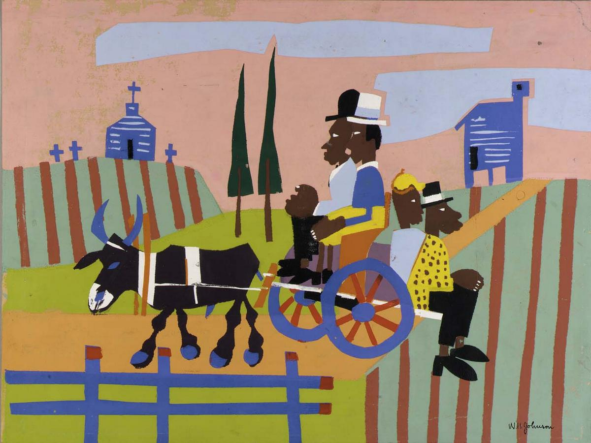 Going to Church - William H. Johnson