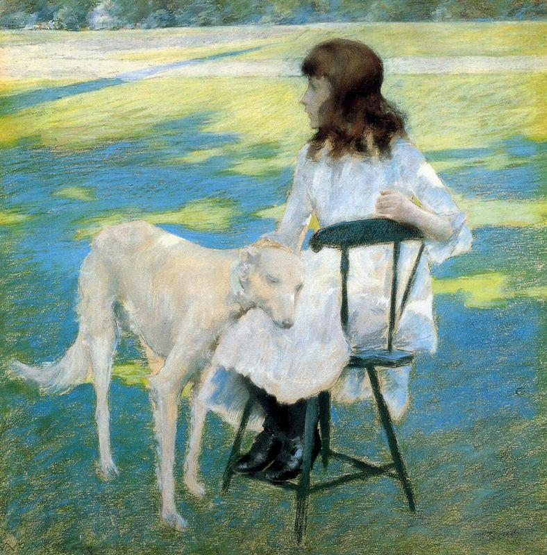 Good Friends - William Merritt Chase