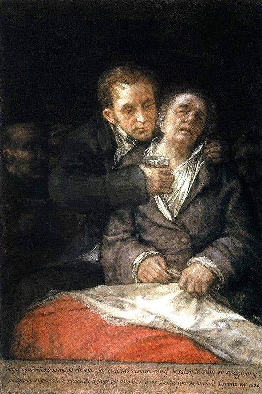 Goya Attended by Doctor Arrieta - Francisco Goya