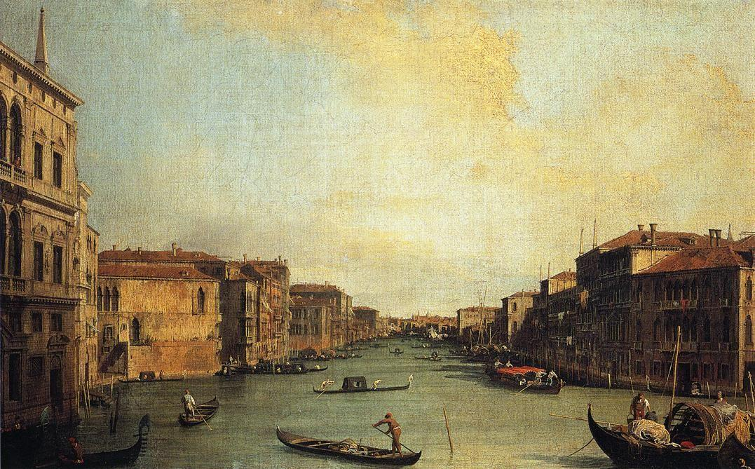 Grand Canal from the Palazzo Balbi - Canaletto