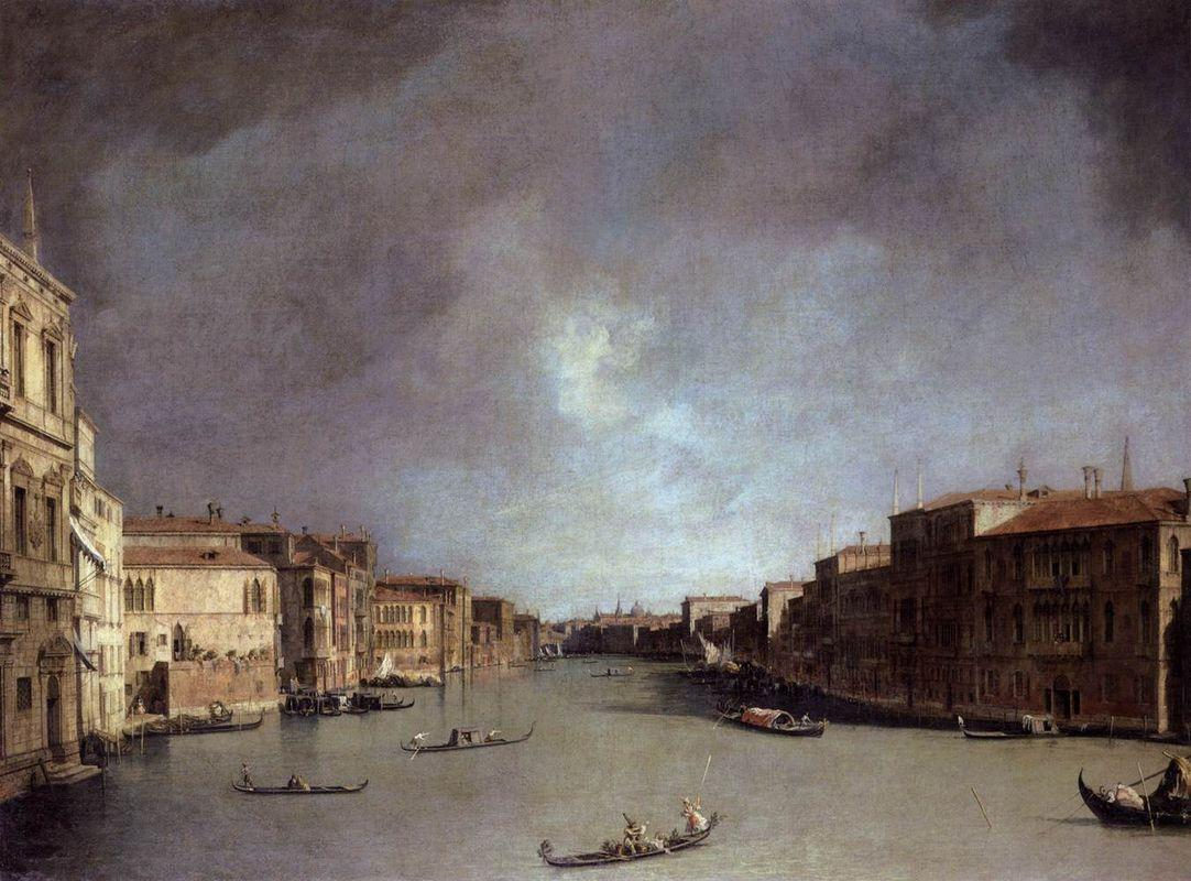 Grand Canal: Looking from Palazzo Balbi - Canaletto