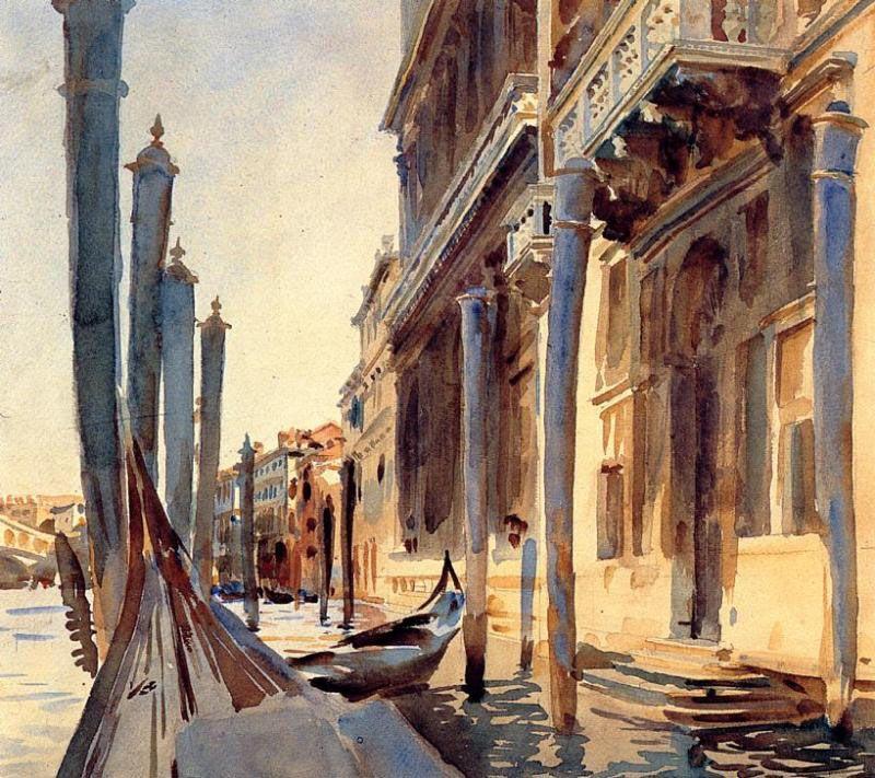 Grand Canal, Venice - John Singer Sargent