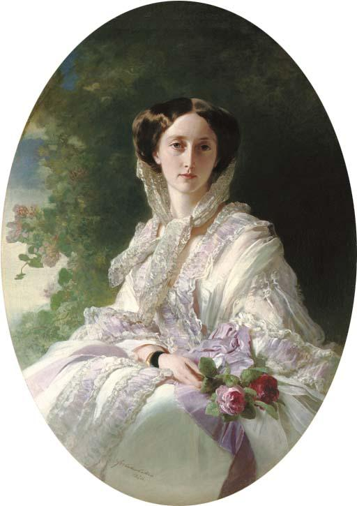 Grand Duchess Olga - Franz Xaver Winterhalter