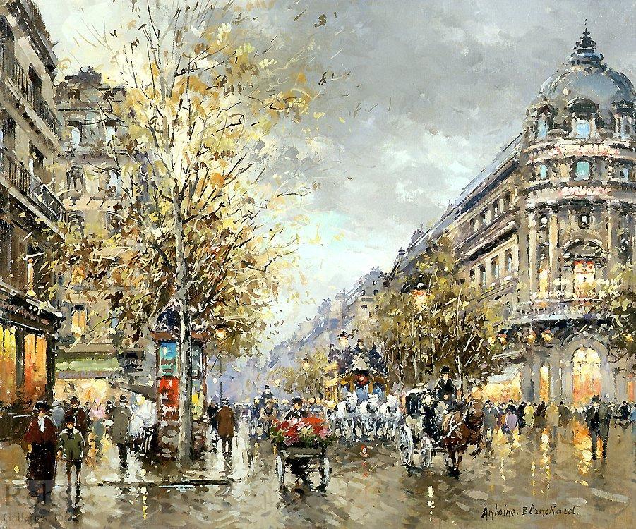 Grands Boulevards - Antoine Blanchard