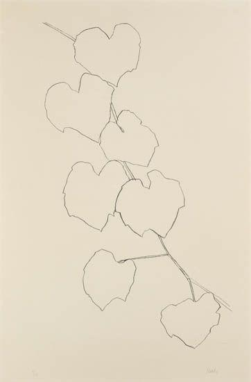 Grape Leaves II - Ellsworth Kelly