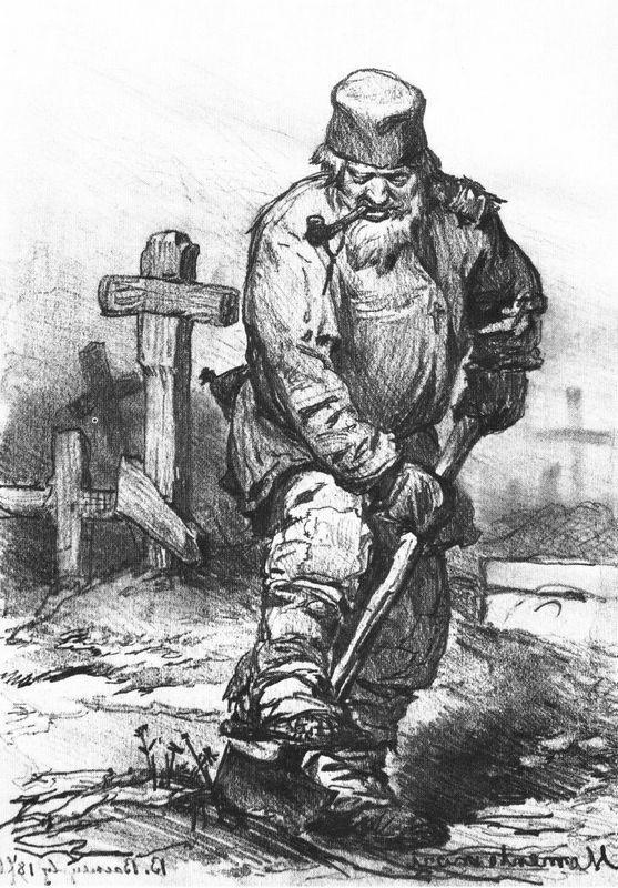 Grave digger - Viktor Vasnetsov