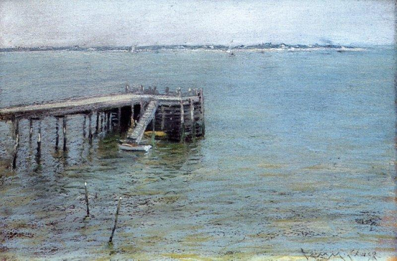Gravesend Bay (aka The Lower Bay) - William Merritt Chase