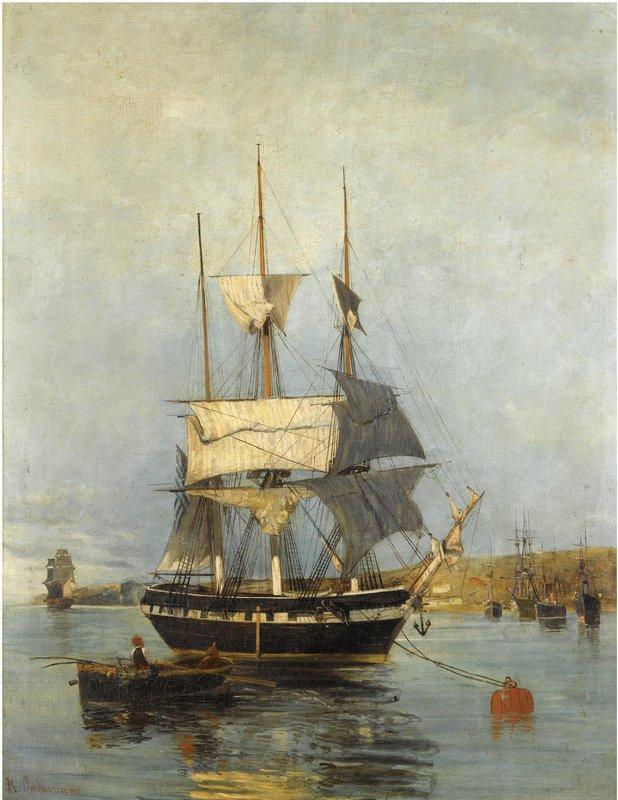 Greek ship - Konstantinos Volanakis