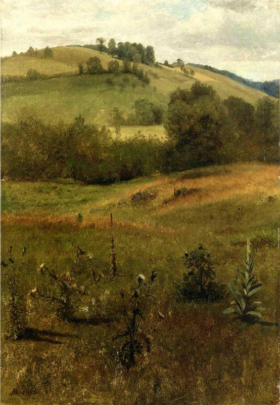 Green Mountains, Vermont - Albert Bierstadt