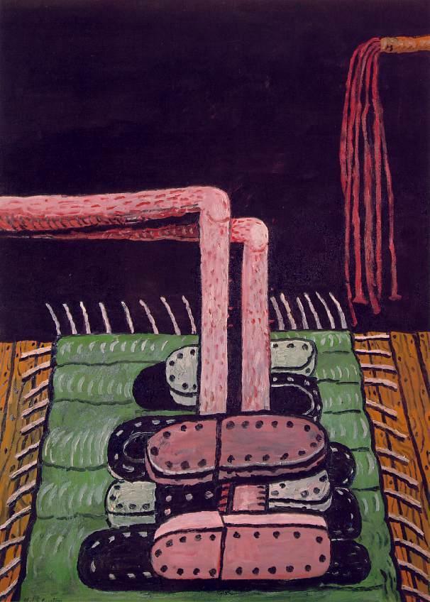Green Rug - Philip Guston