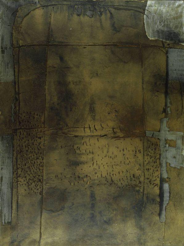 Grey Ochre  - Antoni Tapies