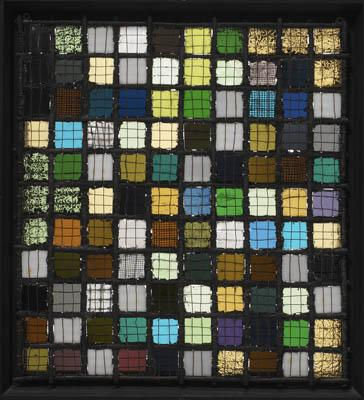 Grid Mounted - Josef Albers