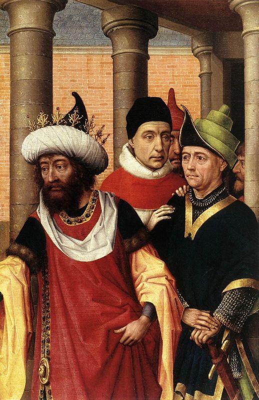 Group of Men - Rogier van der Weyden