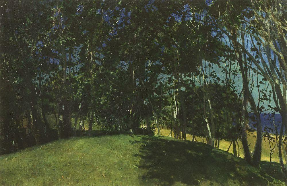 Grove on the Seashore. Sillamyagi - Konstantin Somov