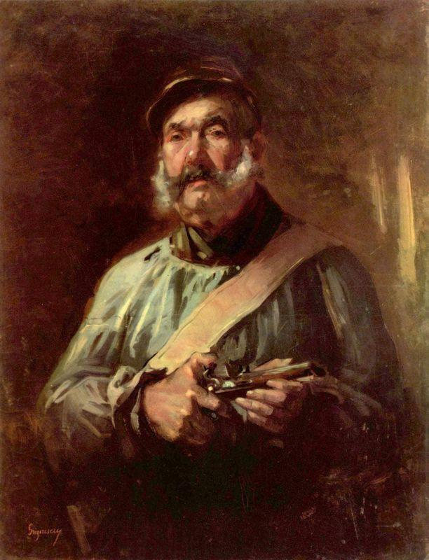 Guardian of Chailly - Nicolae Grigorescu