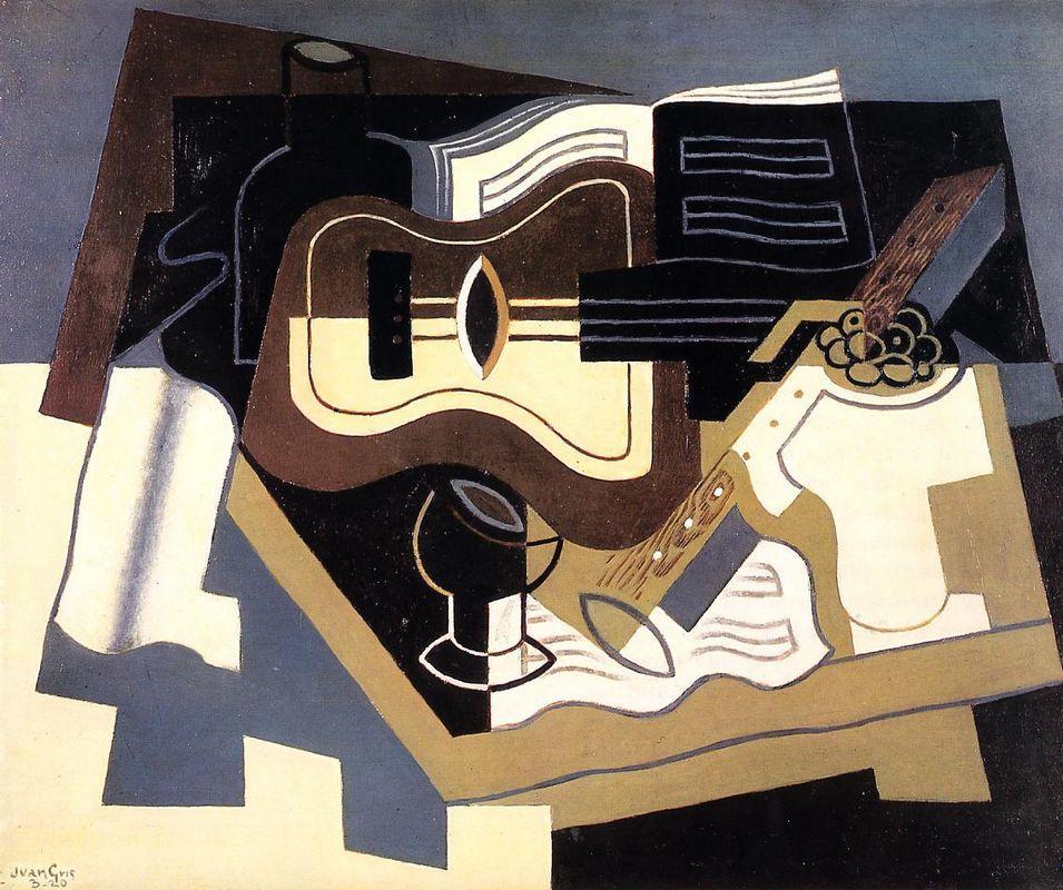 Guitar and Clarinet - Juan Gris