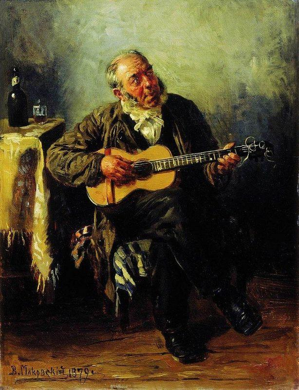Guitar player - Vladimir Makovsky