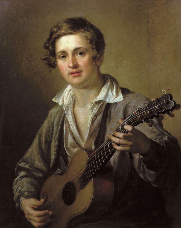 Guitarist - Vasily Tropinin