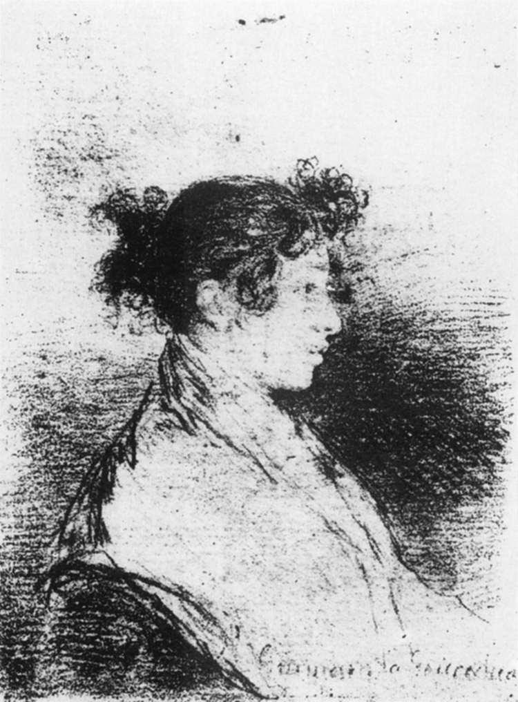 Gumersinda Goicoechea, Goya's Daughter in Law - Francisco Goya