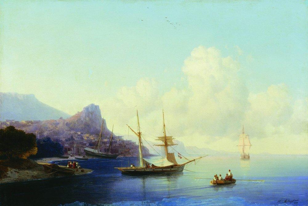 Gurzuf  - Ivan Aivazovsky