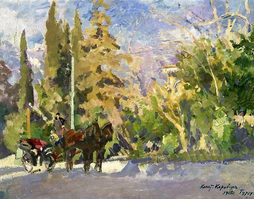 Gurzuf - Konstantin Korovin