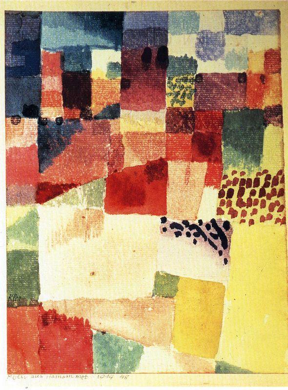 Hammamet - Paul Klee