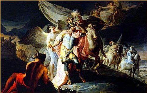 Hanibal vencedor contempla Italia desde los Alpes - Francisco Goya